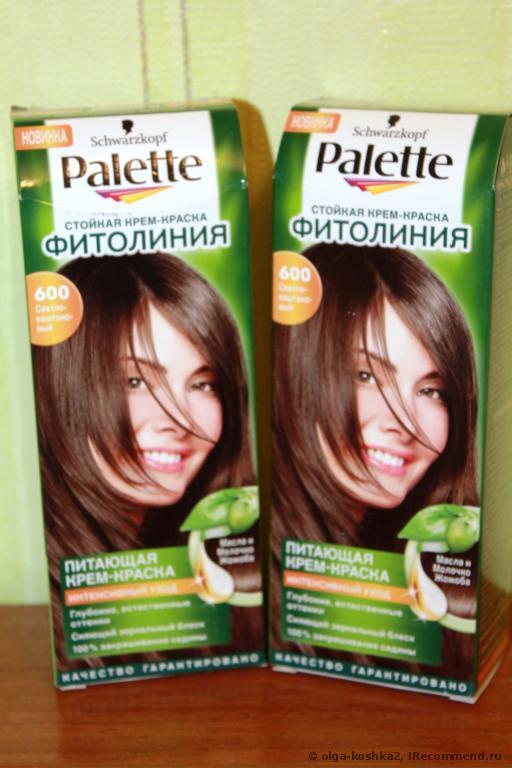 Краска для волос Palette Фитолиния Стойкая ухаживающая крем-краска фото