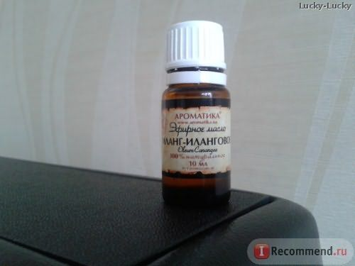 Эфирное масло Ароматика иланг-иланга фото