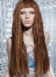 челка 2016 на длинные волосы