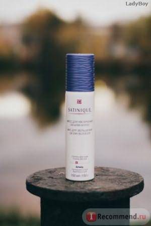 Мусс для волос Satinique для увеличения объема волос фото