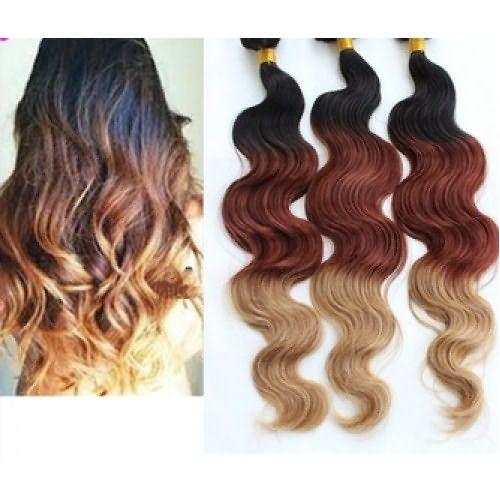 Омбре на нарощенные волосы подойдет девушкам, которые не хотят окрашивать родную шевелюру