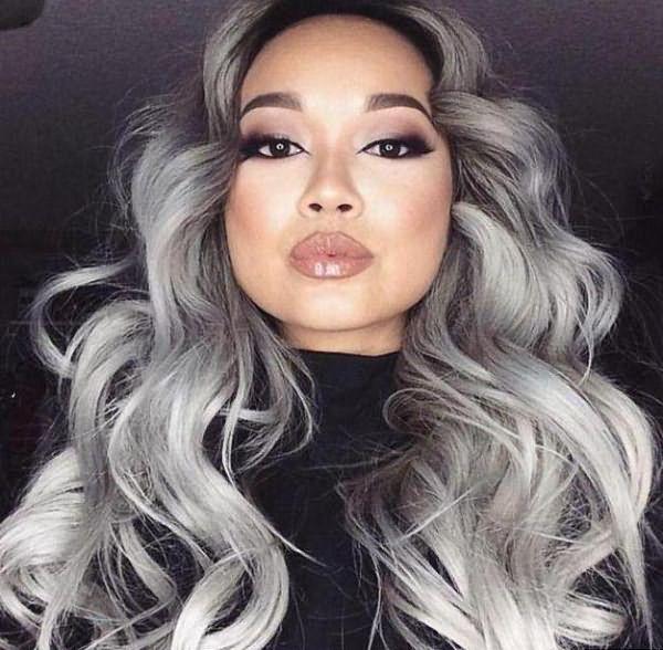 пепельная краска для волос фото