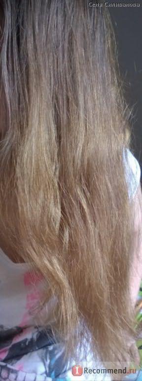 Волосы ДО маски с оливковым маслом