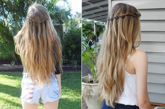 омбре на светло русые волосы