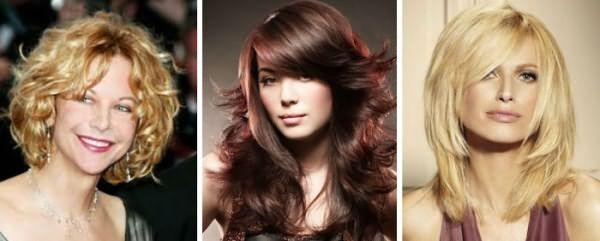 Стрижка Арданда Тосси на разную длину волос