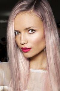 Розовые волосы 9