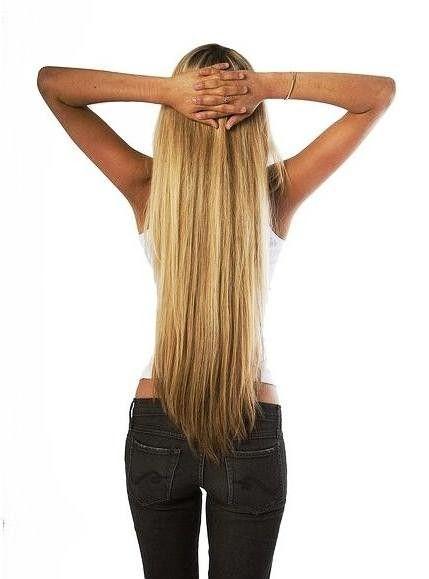 Длинные женские волосы