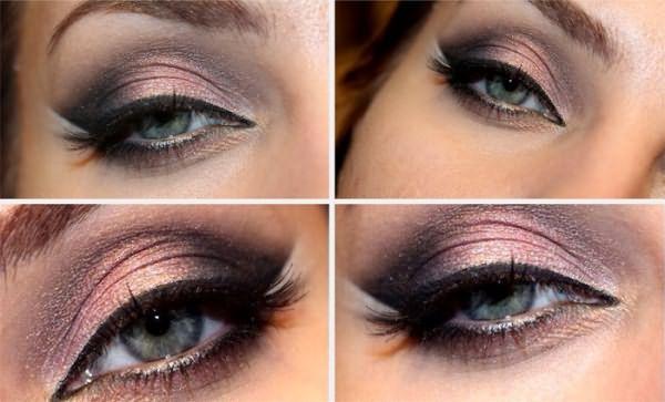 Яркий smoky eyes