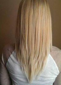 стрижка лисий хвост на длинные волосы 5