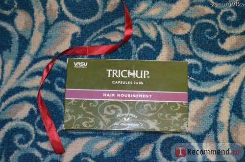 БАД Trichup Капсулы для волос / Capsules 2*30s hair nourishment Power Veda Vasu фото