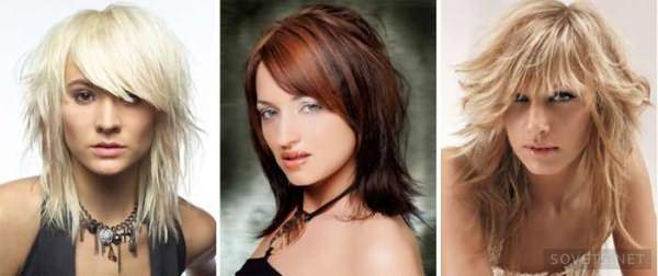 классические прически на средние волосы