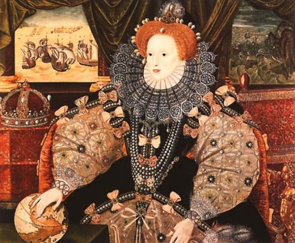 Елизавета Первая ввела моду на рыжий цвет волос