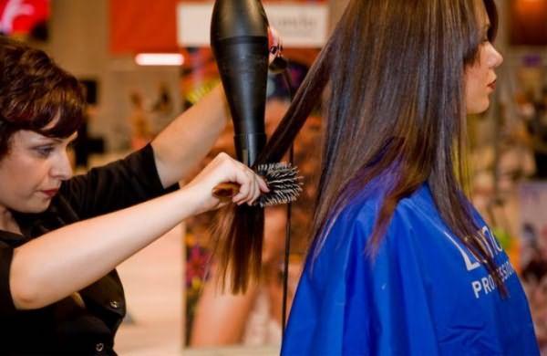 Укладка волос без лака