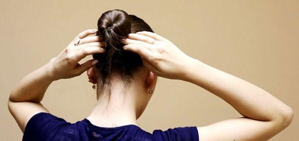 Хеагами: техника выполнения пучка на голове