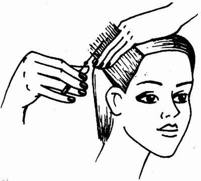 стрижка висков - универсальная короткая женская стрижка