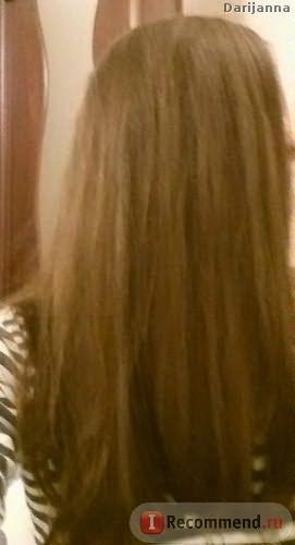 волосы после смываемого кондиционера + спрей