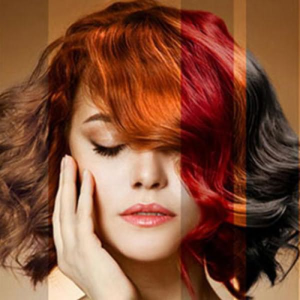 Краска для волос, щадящая волосы