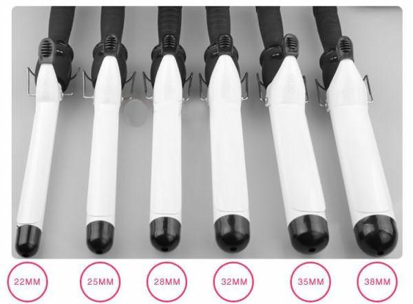 Цена на плойки определяется типом покрытия и диаметром нагревательного элемента, чем больше диаметр, тем объемнее завитки