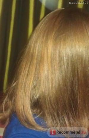 Волосы после применения данного шампуня и бальзама Organic People