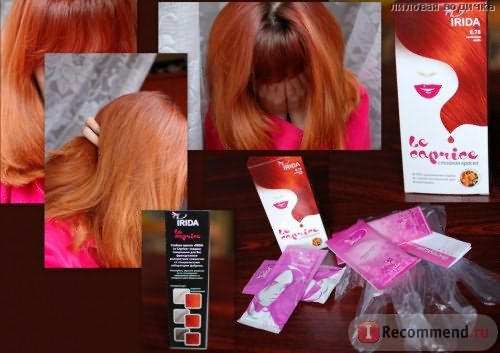 Стойкая Краска для волос Irida Le caprise фото
