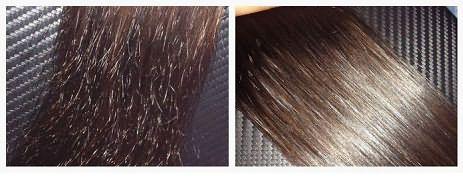 Шлифованные волосы