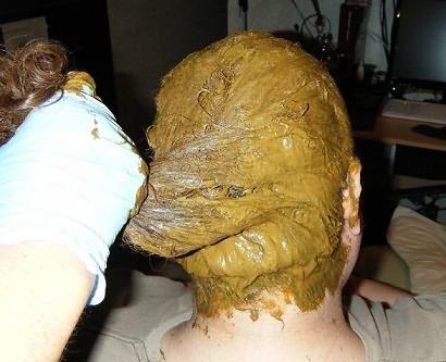 Цветная хна для волос