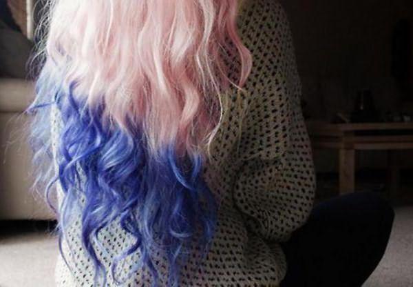 как покрасить кончики волос тоником