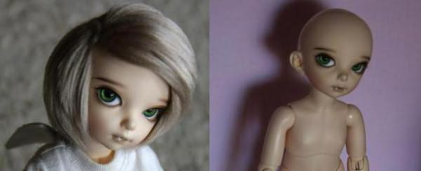 Как сделать волосы кукле из трессов фото 437