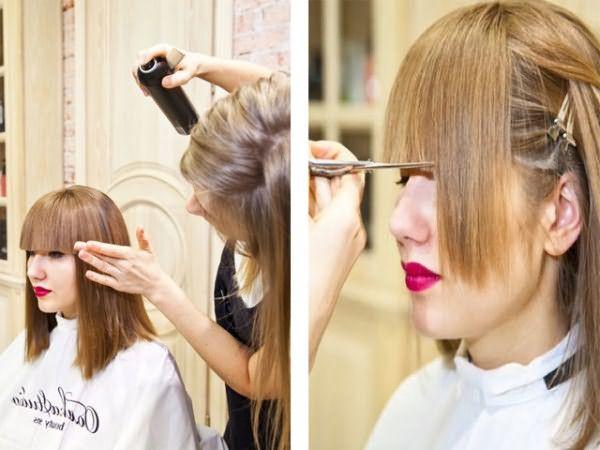 С накладными прядями можно делать все то же, что и с настоящими: обрезать, красить или укладывать