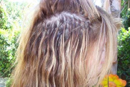 дешевое наращивание волос