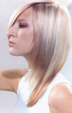 Фото: светлые волосы с колорированием - добавим объем прическе