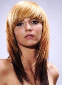 Оригинальные прически на средние волосы7