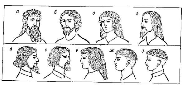 Такие прически носили в Западной Европе в 12-15 веках