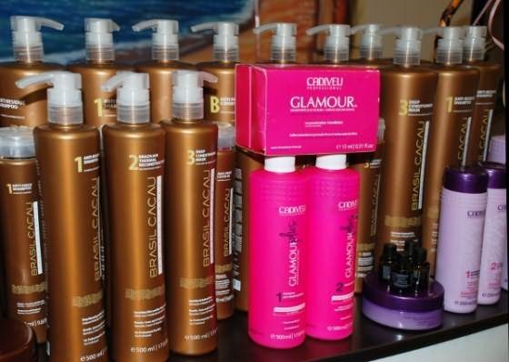Средства для бразильского выпрямления волос от Cadiveu Professional