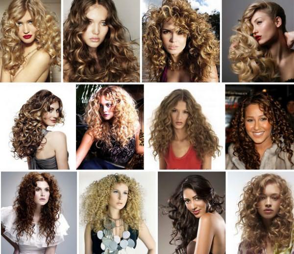 Все разнообразие завитков - химка на длинные волосы