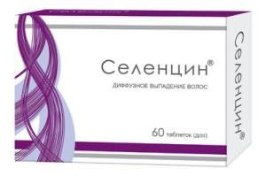 Селенцин - препарат от выпадения волос