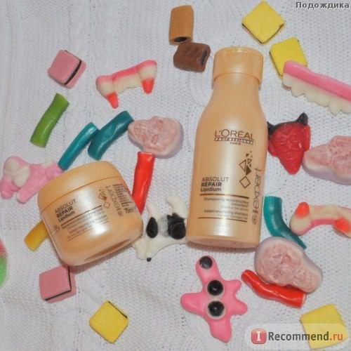 Маска для волос L'Oreal Professionnel Absolut repair lipidium фото