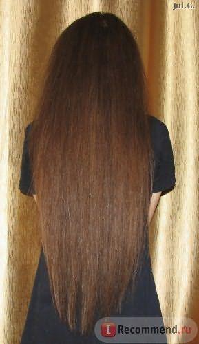 нанесение на влажные волосы
