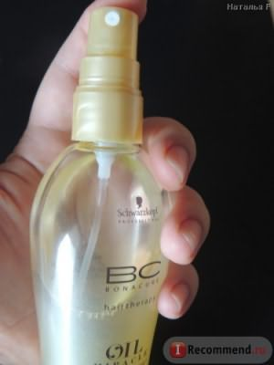 Масло для волос Schwarzkopf Professional Bonacure Oil Miracle Mist фото