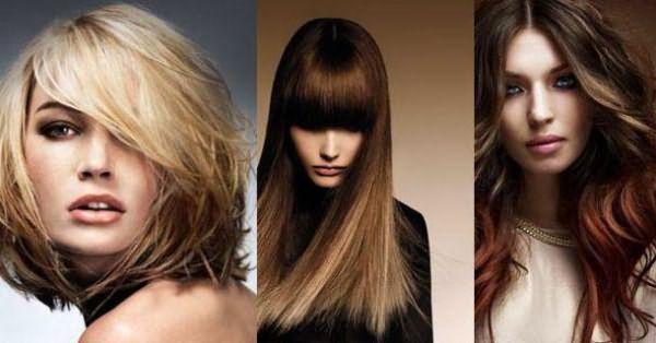 покраска волос на средние волосы