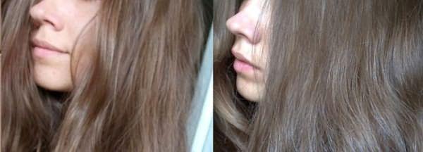 Фото до и после окрашивания светлых и темных волос