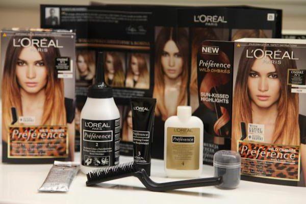 омбре для темных волос модный тренд сезона