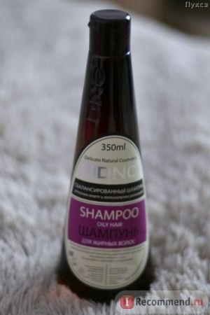 Шампунь DNC для жирных волос фото