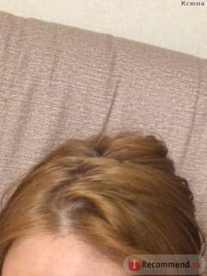 Корни после смывки - искусственный свет / Эмульсия для удаления стойких красок с волос Estel Color Off - отзыв