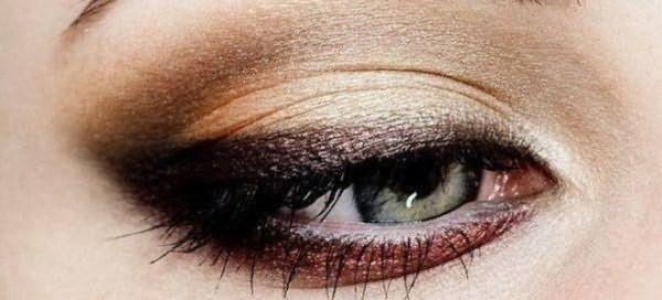 пошаговый макияж для голубых глаз 8