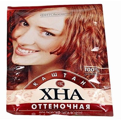На фото натуральный краситель для ваших локонов, цена его доступная, и никакого вреда вашим волосам.