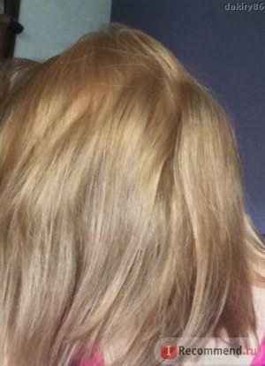 Сухие волосы естественное освещение