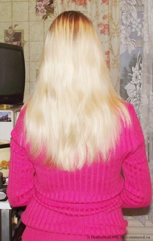 кончики приходилось состригать всегда, чтобы волосы выглядели хоть немного лучше