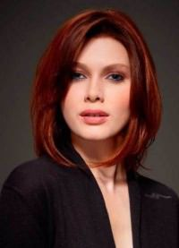 стрижки для объема на средние волосы 5