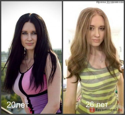 одеты волосы на заколках на первой фотке